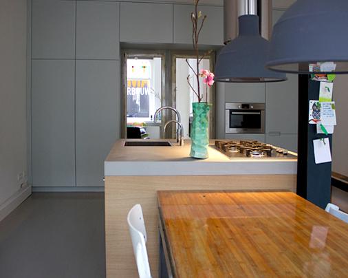 Keuken en aanpassing 'kamer en suite' kasten – Particulier, Utrecht